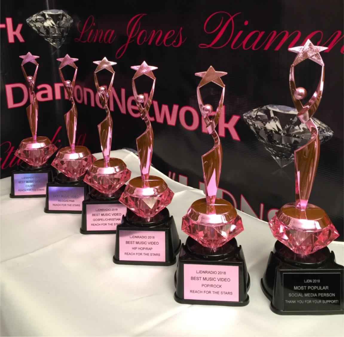 LJ Diamond Awards 2018/19 trophy